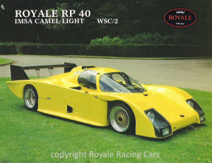 Royale Porsche RP40_Press Photo