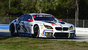 24-25 February, 2016, Sebring, Florida USA 25, BMW, F13 M6, GTLM, Bill Auberlen, Dirk Werner, Augusto Farfus, Bruno Spengler ©2016, Richard Dole LAT Photo USA